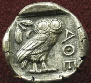 Monnaie-Grecque-5e-Athenes